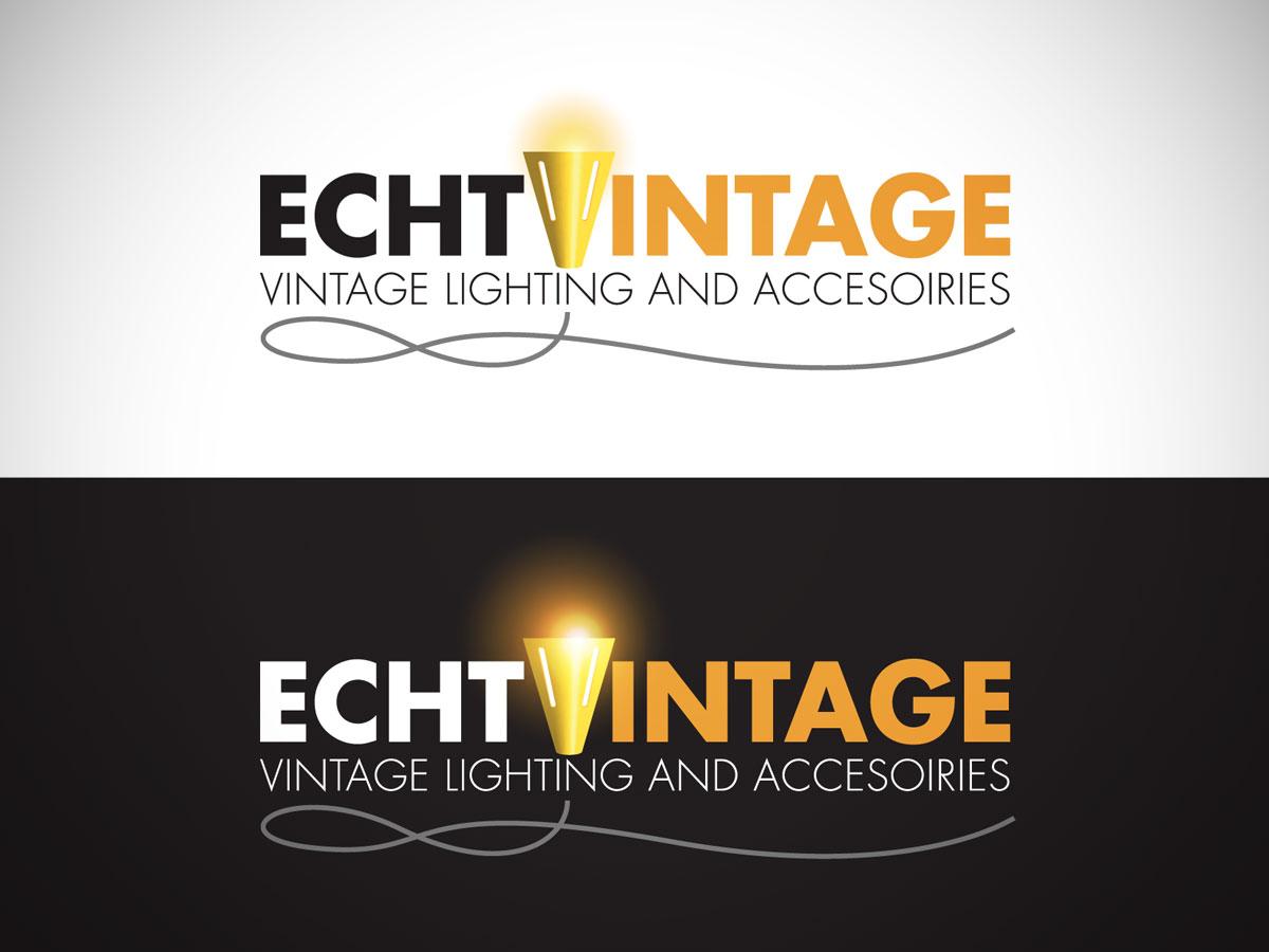 Logo design 'Echt Vintage'